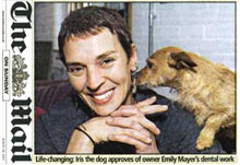 Emily Mayer in the Mail on Sunday