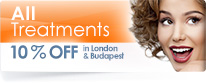London and Budapest Clinic Special Offer - offer ends 31st July2017