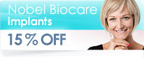 Branemark Implant Special Offer - offer ends 19th December 2015