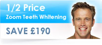 Half Price Teeth Whitening Offer - offer ends 30th November 2017